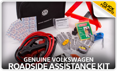 Learn more about the VW roadside assistance kit available for purchase at Baxter VW Westroads