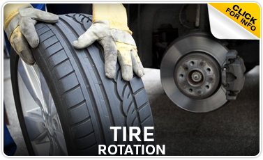 Click to view our Volkswagen tire rotation service in Omaha, NE
