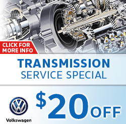 Save on our Transmission Service special on your Volkswagen with this special service offer in Omaha, NE. Click for details.