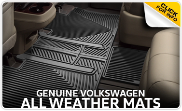 Volkswagen Genuine All Weather Floor Mats In La Vista, NE
