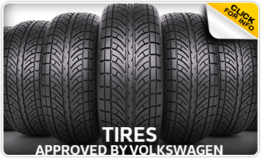 Click to view our Genuine Volkswagen Approved Tires Parts Brochure Serving La Vista, NE