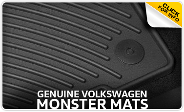 Click for Volkswagen Monster Floor Mats Parts Information in La Vista, NE
