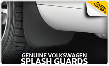 Volkswagen Genuine Splash Guards In La Vista, NE