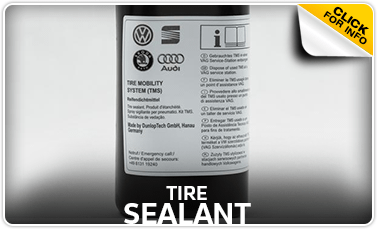 Click to research our tire sealant parts information at Baxter Volkswagen La Vista