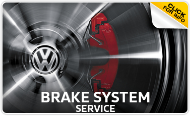 Volkswagen Brake System Maintenance Service information from Performance Volkswagen in La Vista, NE