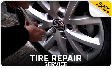 Volkswagen Tire Repair Services Information serving Council Bluffs and Des Moines