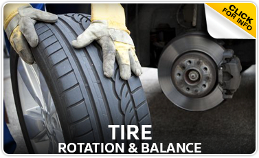Volkswagen Tire Rotation & Balance Service Information serving Council Bluffs and Des Moines