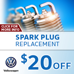 Click to view our Volkswagen Spark Plug Replacement Service Special in La Vista, NE