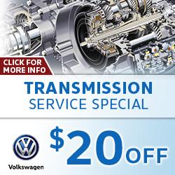 Click to view our Volkswagen Transmission Service Special in La Vista, NE