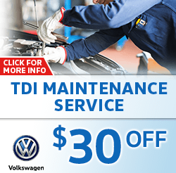 Click to view our Volkswagen TDI Maintenance Service Special in La Vista, NE