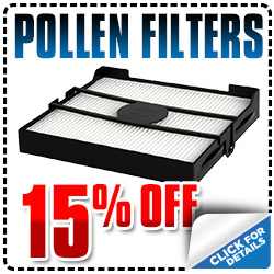 Carlsbad Subaru Pollen Cabin Air Filter Parts Special Coupon for use at Bob Baker Subaru in Carlsbad