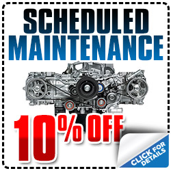 Subaru Scheduled Maintenance Special serving Carlsbad, CA