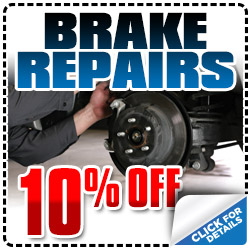 San Diego Subaru Brake Repair Service Special serving Carlsbad, California