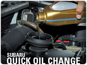Subaru Genuine Oil Filter & Oil Change Service in Columbus, OH