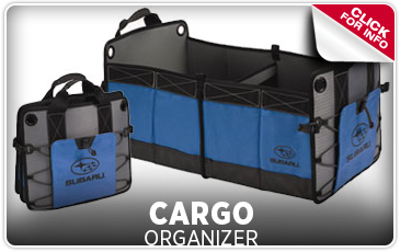 Click for more information on genuine Subaru cargo organizers available at Byers Airport Subaru in Columbus, OH