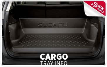 Click to Research Genuine Subaru Cargo Trays in Columbus, OH