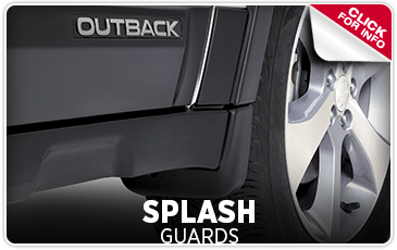 Click for more information on genuine Subaru splash guards available at Byers Airport Subaru in Columbus, OH