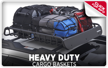 Learn more about Genuine Subaru parts and accessories - Heavy duty cargo baskets increase your available cargo space and are durable - Get them at Byers Airport Subaru in Columbus, OH
