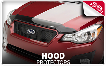Learn more about Genuine Subaru parts and accessories - Hood protectors keep rocks and other debris from damaging your paint - Get them at Byers Airport Subaru in Columbus, OH