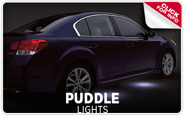 Learn more about Genuine Subaru parts and accessories - Puddle lights help illuminate the road better, especially in foul weather - Get them at Byers Airport Subaru in Columbus, OH