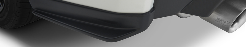 Add a touch of style with a Subaru STI Rear Quarter Under Spoiler