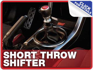 Click to view our Subaru short throw shifter performance parts information in Columbus, OH
