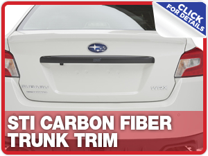 Click to learn more about Subaru STi Carbon Fiber Trunk Trim Parts Information in Columbus, OH
