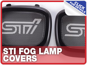 Click to research our Subaru STi Fog  Lamp Covers Parts Information in Columbus, OH