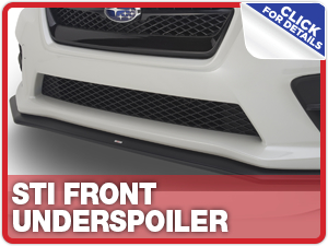 Click to learn more about Subaru STi Front Underspoiler Parts Information in Columbus, OH