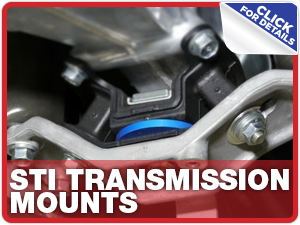 Click to learn more about Subaru STI Transmission Mounts performance parts in Columbus, OH