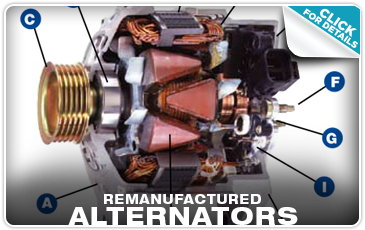 Subaru Remanufactured Alternators Columbus, OH
