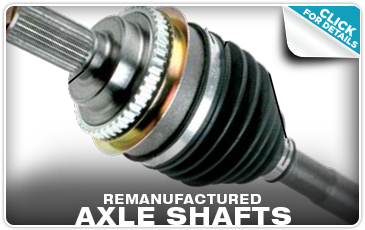Subaru Remanufactured Axle Shafts Columbus, OH