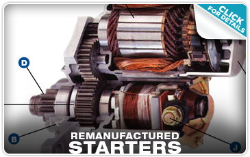 Subaru Remanufactured Starters Columbus, OH