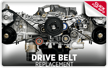 Learn about our drive belt replacement service at Byers Airport Subaru located in Columbus, OH