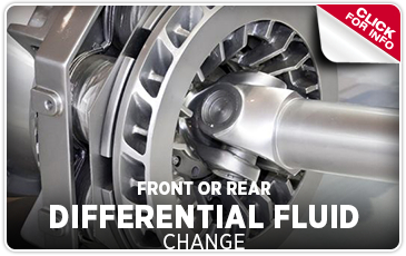 Front or Rear Differential Fluid Change Information Serving Westerville and New Albany