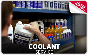 Subaru Engine Coolant Service at Byers Airport Subaru in Columbus, OH