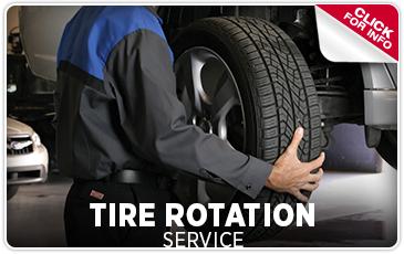 Subaru Tire Rotation Service at Byers Airport Subaru in Columbus, OH