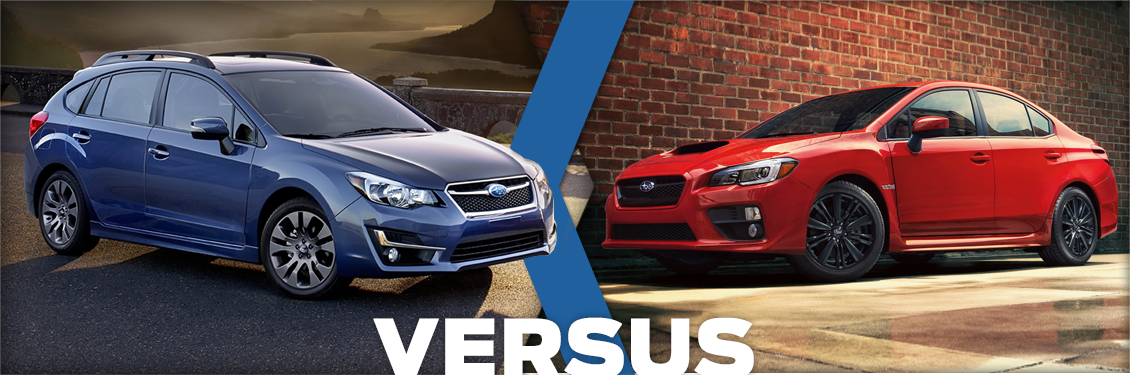Byers Airport Subaru >> New 2015 Subaru Impreza (5-door) VS WRX Model Comparison ...