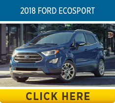 Compare the 2018 Subaru Crosstrek vs 2018 Ford EcoSport models at Byers Airport Subaru in Columbus, OH