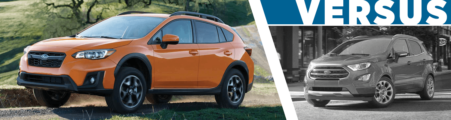 Compare Subaru Models >> Compare 2018 Subaru Crosstrek Vs Ford Ecosport Features