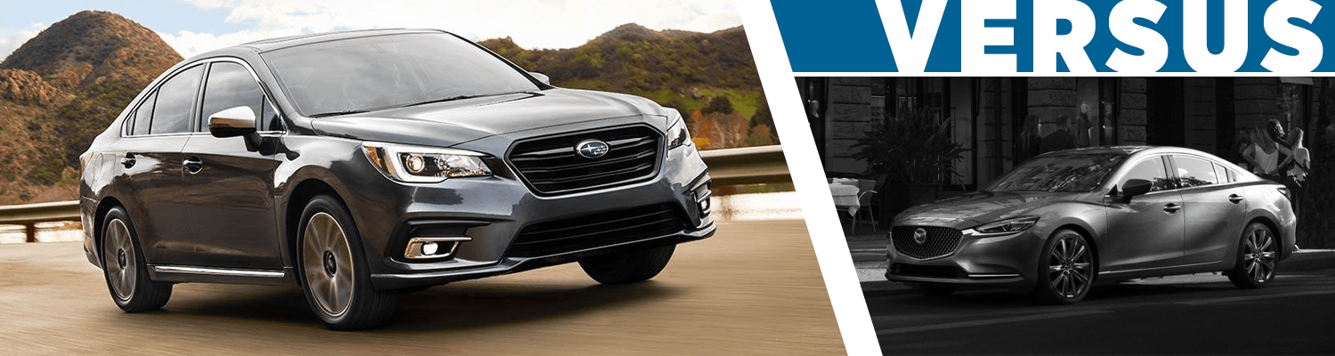 Byers Airport Subaru >> 2018 Subaru Legacy vs 2018 Mazda6 | Sedan Model Comparison ...