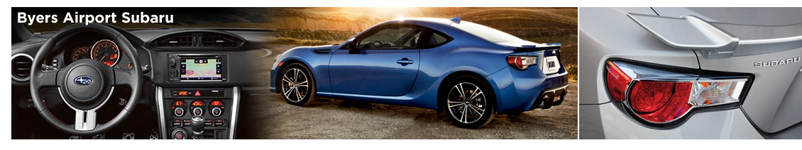 The pre-owned 2016 Subaru BRZ is available now at Byers Airport Subaru in Columbus, OH