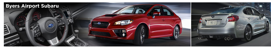 The pre-owned 2016 Subaru WRX is available now at Byers Airport Subaru in Columbus, OH