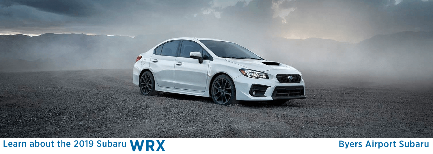 Byers Airport Subaru >> New 2019 Subaru WRX Sport Model Features & Details ...