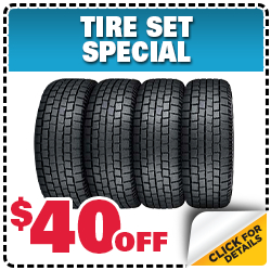 Subaru Tire Set Parts Special in Columbus, OH