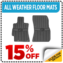 Click to View Subaru All-Weather Floor Mats Parts Special in Columbus, OH