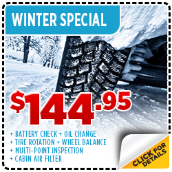 Save on  Your Next Winter Special Service savings at Byers Airport Subaru in  Columbus, OH