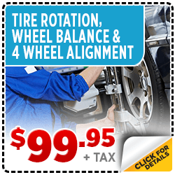 Click to View Our Tire Rotation, Wheel Balance, and 4-Wheel Alignment Service Special at Byers Airport Subaru in Columbus, OH