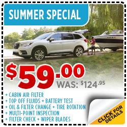 Click to Browse Our Summer Service Special at Byers Airport Subaru in Columbus, OH