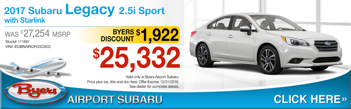 Byers Airport Subaru >> New Subaru Specials | Lease & Sales Offers | Columbus, OH